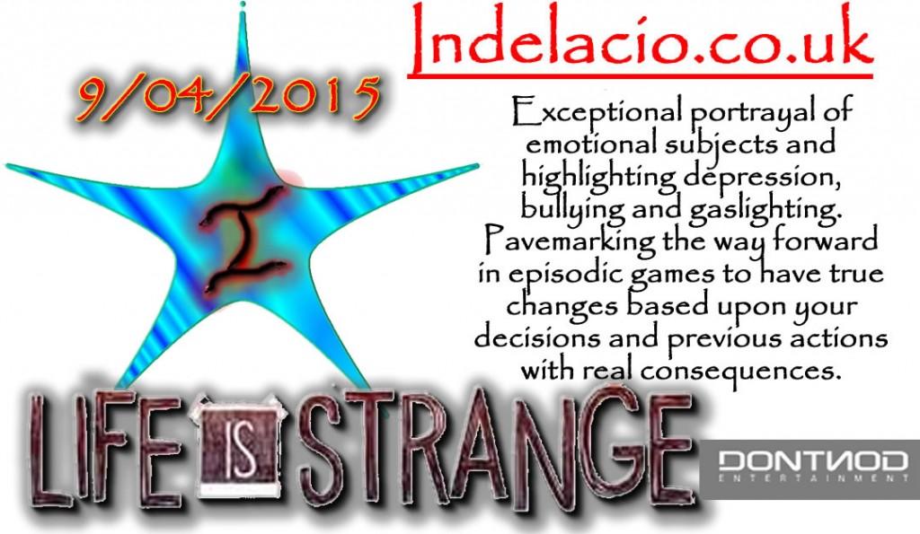 life is strange IStar 9/04/2015